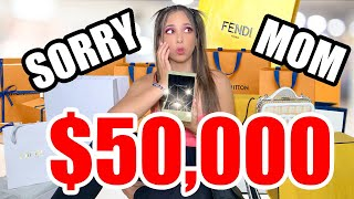 I SPENT $50,000 LUXURY HAUL DESIGNER SHOPPING SPREE (GUCCI, DIOR, FENDI AND MORE)