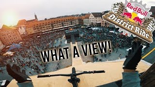 WHAT AN INSANE VIEW! - RedBull DISTRICT RIDE Part2