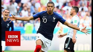 World Cup 2018: Is Kylian Mbappe the new Pele? - BBC News