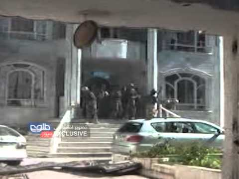 TOLOnews Exclusive Militant Attack Indian Consulate Herat 23.05.2014