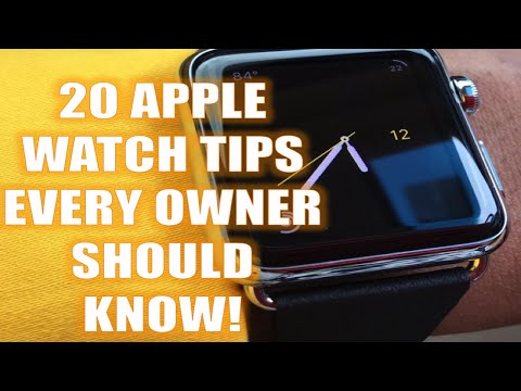 21 Amazing Apple Watch Tips [Updated for iOS9!]