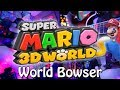 World Bowser - Super Mario 3D World (Rock/Dance) Guitar Cover | Gabocarina96