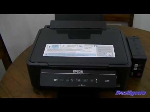 Multifuncional Tanque de tinta Epson L355 - Unboxing