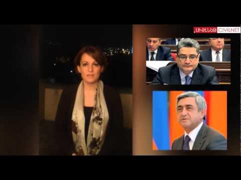 Prime Minister Tigran Sargsyan Resigns