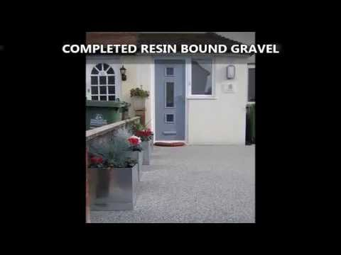Resin Bound Permeable Paving Parking Bay Hertfordshire