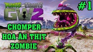 Plants Vs Zombies 2 3D - Hoa Quả Nổi Giận 2 3D: Quá Đã, Quá Tuyệt Vời Với Hoa Ăn Thịt Zombie #1