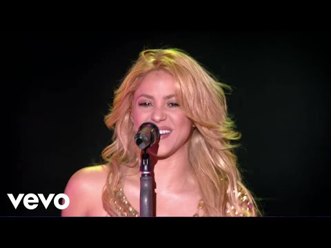 Shakira - Whenever Wherever (Live From Paris)
