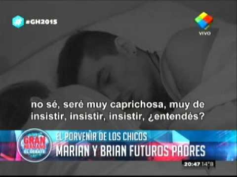 """Gran Hermano 2015"": Brian a Marian ya piensan en tener hijos"