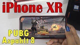 iPhone XR - Extreme Gaming (PUBG & Asphalt 8)