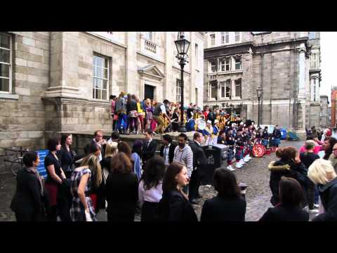 Bollywood Comes To Trinity College Dublin -- Filming Of Ek Tha Tiger At Tcd video