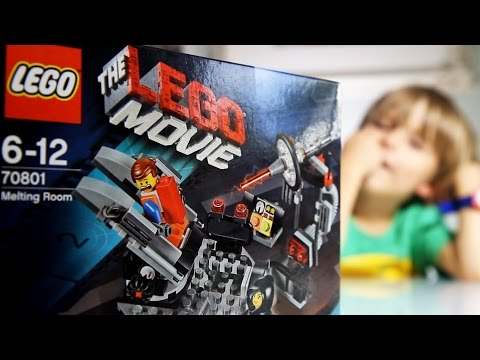 Cool Lego Set: The Lego Movie Melting Room - 70801