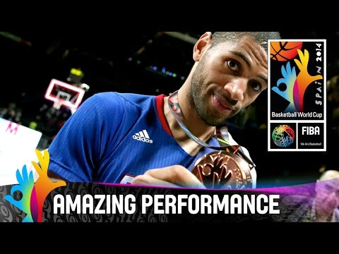 Nicolas Batum - Amazing Performance - 3rd Place Final - 2014 FIBA Basketball World