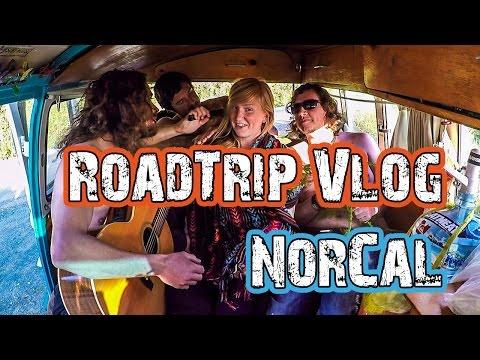 Travel VLOG(6) NorCal, Humboldt, Lost Coast - VW Bus Road Trip