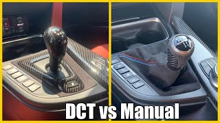 DCT or Manual:  which BMW M transmission is best? (F80 F82 F83 M3 M4)