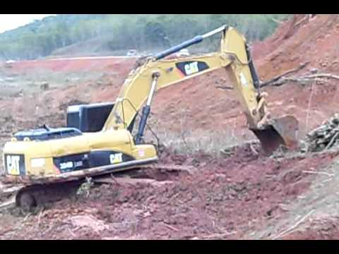 Escavadeira Caterpillar 324 D Music Videos