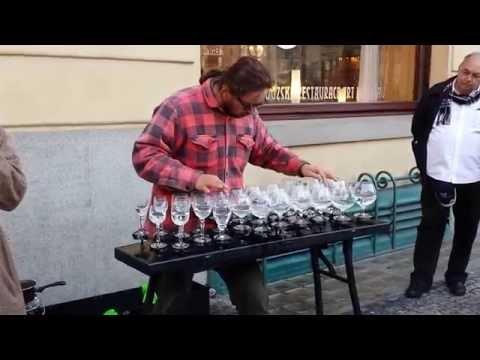 Glass Harp, Prague Street Performance - 2013-09-27