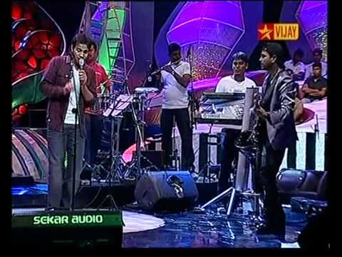 Omkara Nadanu Hq - Karthik With Bennet And The Band - Airtel Super Singer video