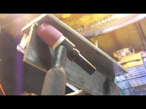 TIG Welding Overhead -How to Tig Weld Overhead