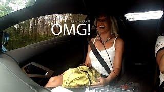 Reactions to my Lamborghini Aventador LP-700 - Charity Runs