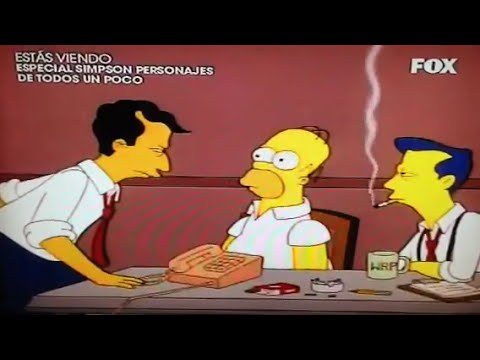 Los simpsons Homero Thompson !