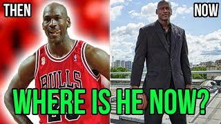 Where Are They Now? MICHAEL JORDAN