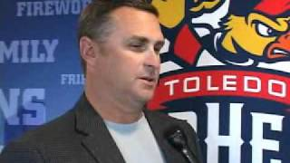 Phil Nevin New Mud Hens Manager (2010)