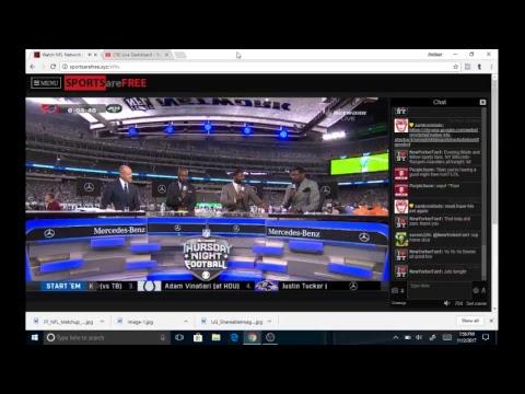Live Streaming Football: NFL Football Bill vs Jets Thursday night football