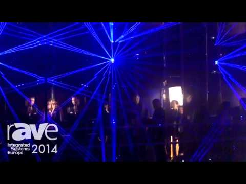 ISE 2014: HB Laser Showcases Hyper Cube Show Laser System