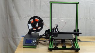 [010] Anet E10 3D Printer Assembly & Initial Impressions