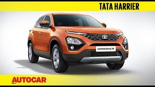 Tata Harrier - new flagship SUV | First Look Preview | Autocar India