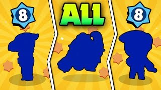 LEVEL 8 NOOB UNLOCKS ALL 3 LEGENDARIES IN BRAWL STARS! BEST WAY HOW TO GET LEGENDARY BRAWLERS!