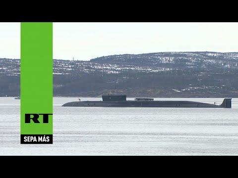 Rusia: Un nuevo submarino nuclear participa en el desfile del Día de la Victoria en el Ártico