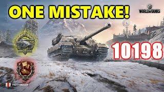 World of Tanks - FV 217 Badger - 10K Damage 8 Kills - One Mistake Man!