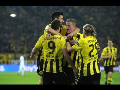 Stimmung Südtribüne komplett: Borussia Dortmund - Real Madrid 4:1 Champions League BVB 2013