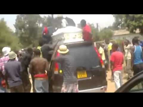 Boris Mushonga Funeral Street Video - Mbare, Harare, Zimbabwe video