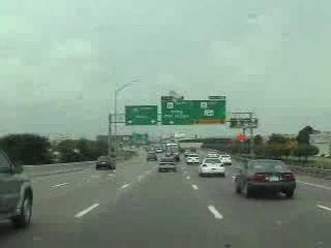 Dallas Texas Freeway Tour Video