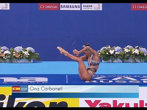 Todo Sincro Ona Carbonell. KAZAN 2015 World Championships.