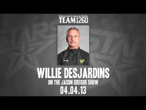04/04/13 Radio Interview: Willie Desjardins