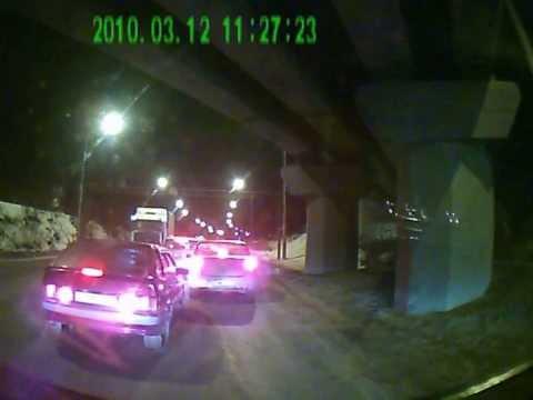 ДТП 10 машин в Рязани
