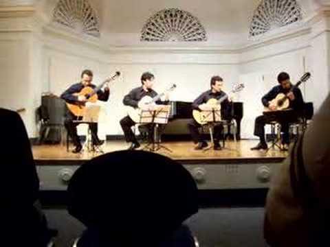 Gentil Montaña Quartet in NYC