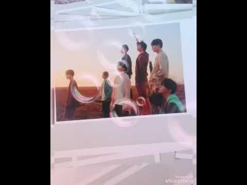 Lomo card BTS Love Yourself Tear