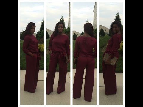 """DIY Needles and Fashion The """"Gwen"""" jumpsuit"""