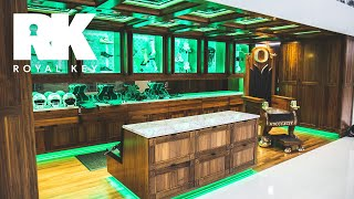 We Toured the OREGON DUCKS' AMAZING FOOTBALL Facility & Sneaker Equipment Room | Royal Key