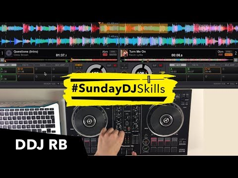 Pioneer DDJ RB - Hip Hop/Garage/EDM - 'TURN ME ON WORDPLAY' Performance