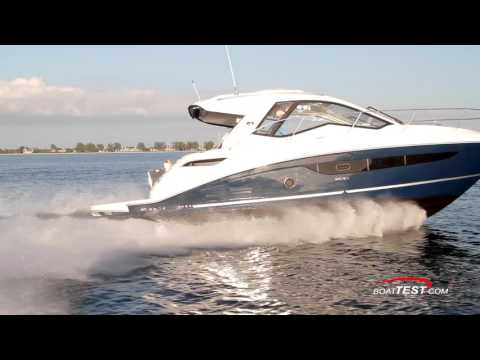 Sea Ray Sundancer 350 Coupe (2017-) Features Video - By BoatTEST.com