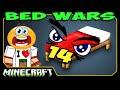 ч.14 Bed Wars Minecraft - Вообще все против нас!!!