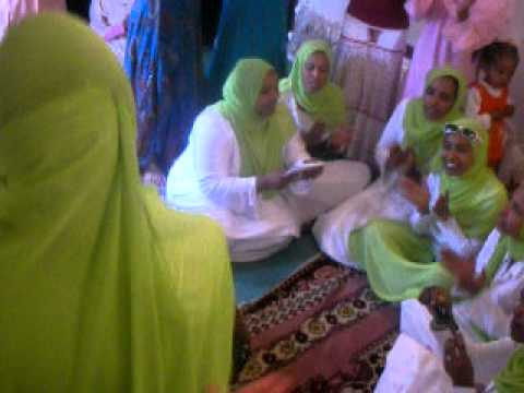 Ladies Menzuma ( Zikr )  at the brides house -   Ethiopian Muslim  Wedding