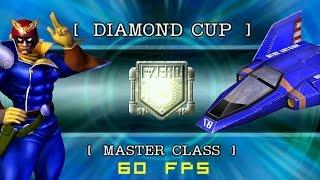 F-Zero GX: Grand Prix | Diamond Cup | Master Class | Captain Falcon [60fps]