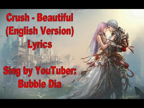 Crush - Beautiful English Lyrics (Goblin)
