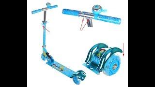Xe trượt scooter cho trẻ em, xe trượt scooter 3 bánh cho bé có đèn led
